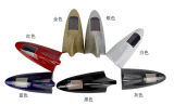 8 Светодиодный пластмассовый клей с солнечной энергии на машине плавник акулы лампа аварийной сигнализации