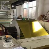 コイルの0.35mmの厚さの金ラッカーを塗られた印刷されたブリキ