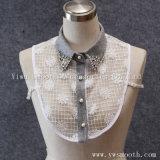 يقوّم أبيض قابل للفصل خارجا قميص تمويه طوق [رهينستون] لباس داخليّ شريكات