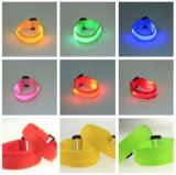 승진 선물 나일론 안전 운영하는 경고 소맷동 놀 악대 색깔 LED 스포츠 팔찌