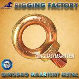 亜鉛は低下によって造られた鋼鉄DIN 582目のナットをめっきした