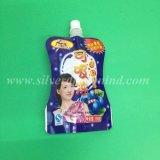 Kundenspezifischer Druck-Plastiktasche-Fastfood- Tülle-Beutel