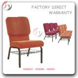 聖餐の有用で快適なオレンジ着席の椅子(JC-68)