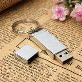 Porte-clés en métal Mémoire flash USB 2.0 pour cadeau