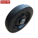 7x1,5 Roue en caoutchouc solide de poids lourds pour l'utilisation de Barrow de roue