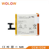 Батарея Сони z изготовления батареи мобильного телефона