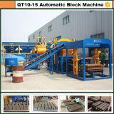 유압 자동적인 모형 비산회 벽돌 만들기 기계 Qt10-15