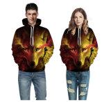 남녀 공통 현실적 3D 디지털 스웨터 스웨트 셔츠 Hoodie 두건이 있는 스웨트 셔츠
