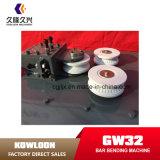 수동의 Gwh32 건축기계 Reber 구부리는 기계 강화 강철 벤더
