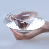 Wedding Souvenir, Paperweight Table Decoration를 위한 150mm Large Clear Crystal Diamond