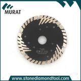 Granit de diamant de haute qualité / Marbre / coupe la lame de scie à lames
