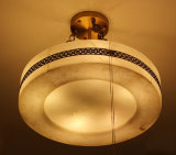 Decorativa Iluminación residencial colgante de mármol Español