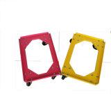 Rodas de plástico Mobile 150 Kg Crate Carrinho carrinho de reboque