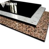 Панель взгляда камня покрытия PVDF алюминиевая составная для плакирования стены