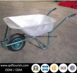 Курган колеса Wb6414 фуры тачки вагонетки тележки инструмента сада складывая