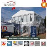 Tent van de Markttent van het Dek van het aluminium de Dubbele met het Comité van het Glas en ABS voor VIP Zitkamer