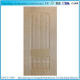 Pele moldada da porta do preço de grosso folheado de madeira HDF da fábrica