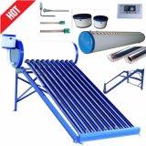 Sistema de aquecimento solar de aço galvanizado de água