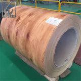 Espessura 0,4mm AZ60 Prepainted bobina de aço Galvalume PPGL para Mianmar