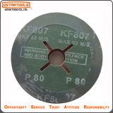 Disco di smeriglitatura della falda del metallo abrasivo della fibra dell'ossido di alluminio per polacco