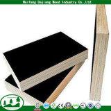 Madera contrachapada de la construcción de la garantía de la alta calidad con la película antirresbaladiza y negra/de Brown