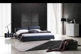 현대 우아한 디자인 침실 성숙한 가죽 침대 (HC278)