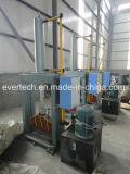 Vertikale hydraulische Bock-Ausschnitt-Maschine/Plastikgummischerblock