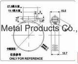 Justierbare Metallbefestigungsteil-amerikanische Edelstahl-Rohr-Schlauchklemme in China