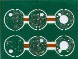 Rigid-Flex PCB con 2 capas y Verde máscara de soldadura