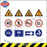 Signes de rue en aluminium r3fléchissants faits sur commande de sûreté