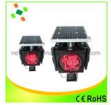 lumière de feux de signalisation de panneau solaire de 300mm DEL