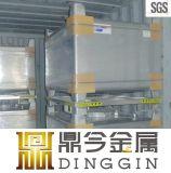 Medidas sanitarias 1000L tanque de acero IBC