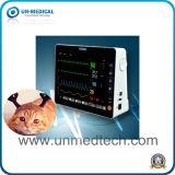 8 pulgadas de múltiples parámetros portátil de Médicos Veterinarios del Monitor de paciente