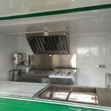 ガラスによって補強されるパネルの高品質の移動式食糧トレーラーの食糧トラック