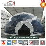 tenten van de Koepel van het Staal van de Tuin van de Diameter van 14m de Geodetische/Serre van de Koepel van het Metaal de Geodetische