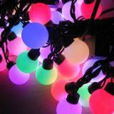 بيضاء لون [لد] عيد ميلاد المسيح كرة خيط ضوء مع [5م] [20بكس] [لدس]