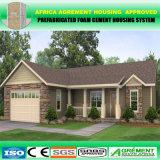 Hogar modular prefabricado moderno del paquete plano del cemento de la espuma/oficina prefabricada del edificio