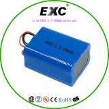 Блоков батарей жизни длительного цикла блока батарей иона FCC RoHS 14.8V Li Ce перезаряжаемые 18650