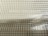 PVC Transparent Mesh Tarpaulin (1000dx1000d 3X3 500g), File Folder Material, Clear Tent Fabric.