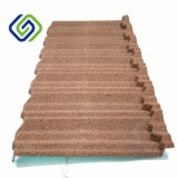実用的で適用範囲が広い建築材料の石の上塗を施してある屋根瓦、安いカラー上塗を施してある鋼鉄屋根瓦