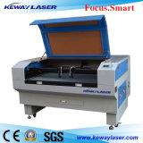 Machine de découpe laser en tissu / tissu