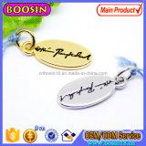 De met de hand gemaakte Markering Charn van het Embleem van het Metaal van de Douane van de Merknaam voor Juwelen, de Charme van het Embleem van Woorden voor de Halsband van de Staaf #233