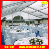 Grand Parti tente de jardin rideau de renom pour l'événement avec plafond
