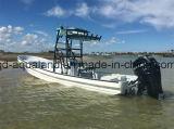 Traghetto del passeggero del tassì dell'acqua dell'imbarcazione a motore di pesca del Panga del battello di servizio della vetroresina di Aqualand 26.5feet 8m (265c)