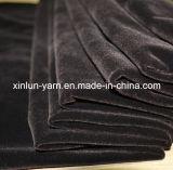 100%Polyester распыляя Flocking связанная ткань для конструкций софы установленных