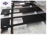 Controsoffitto nero Worktop del granito misura abitudine di prezzi di fabbrica