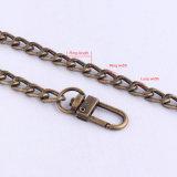 カスタマイズされたAntiuqeの真鍮の金属袋の鎖ストラップのハンドバッグの財布の鎖