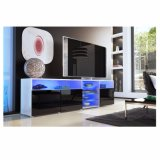 Grande moderno Gloss Matt TV Sideboard do gabinete