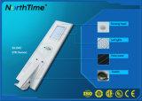50W réverbère intelligent Integrated extérieur du panneau solaire DEL