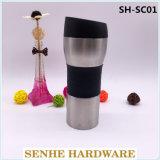 tasse de course de l'acier inoxydable 16oz, tasse de café de course (SH-SC01)